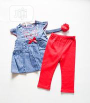 Jean Top N Legging | Children's Clothing for sale in Lagos State, Amuwo-Odofin
