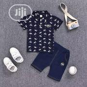 2pcs Blue Shirt N Short | Children's Clothing for sale in Lagos State, Amuwo-Odofin