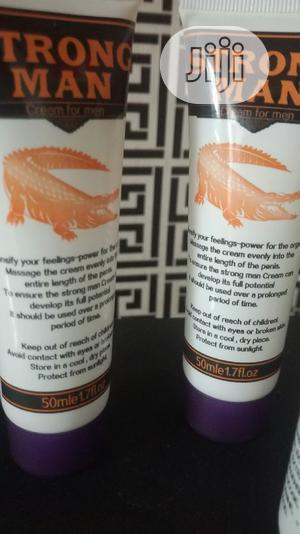 Strong Man Enlargement Cream | Sexual Wellness for sale in Osun State, Iwo