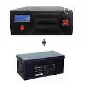 1kva 12v Pure Sine Wave Inverter+ 200amps Battery | Electrical Equipment for sale in Lagos State, Ikeja