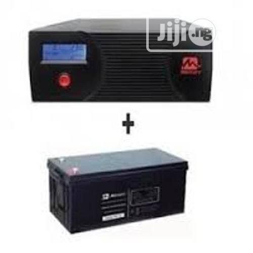 1kva 12v Pure Sine Wave Inverter+ 200amps Battery