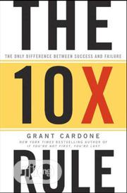 The 10X Rule By Grant Cardone | Books & Games for sale in Lagos State, Ikeja