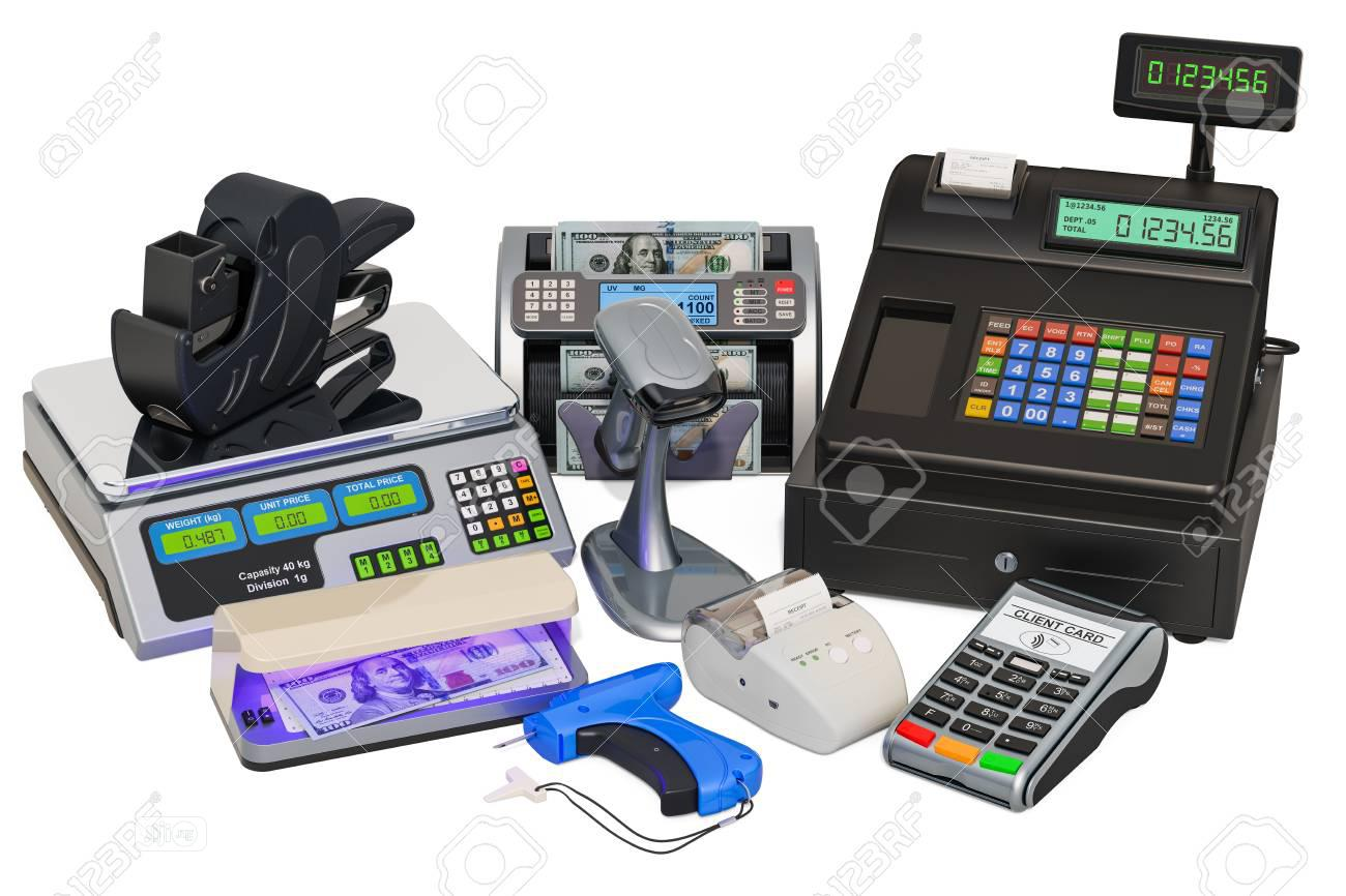 Cash Register And Pos