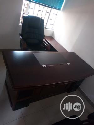 Standard Executive Office Table And Chair | Furniture for sale in Lagos State, Ikeja