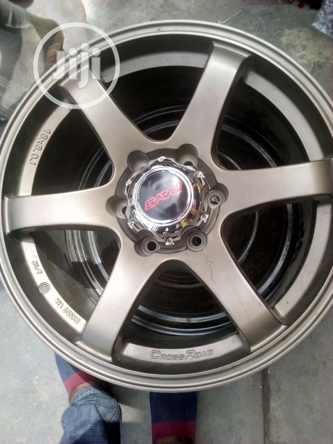 Original American Rays Alloy Wheel Rim 18 3years Warranty | Vehicle Parts & Accessories for sale in Ikeja, Lagos State, Nigeria