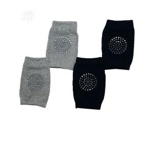 2 Pairs of Baby Crawling Knee Pad Protector-Navy Blue Grey | Babies & Kids Accessories for sale in Lagos State, Ojota