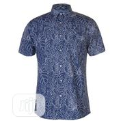 Pierre Cardin Blue Short Sleeve | Clothing for sale in Lagos State, Ojodu