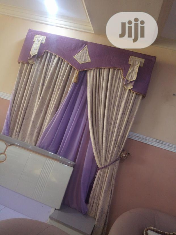 Beautiful Royal Curtain With Board