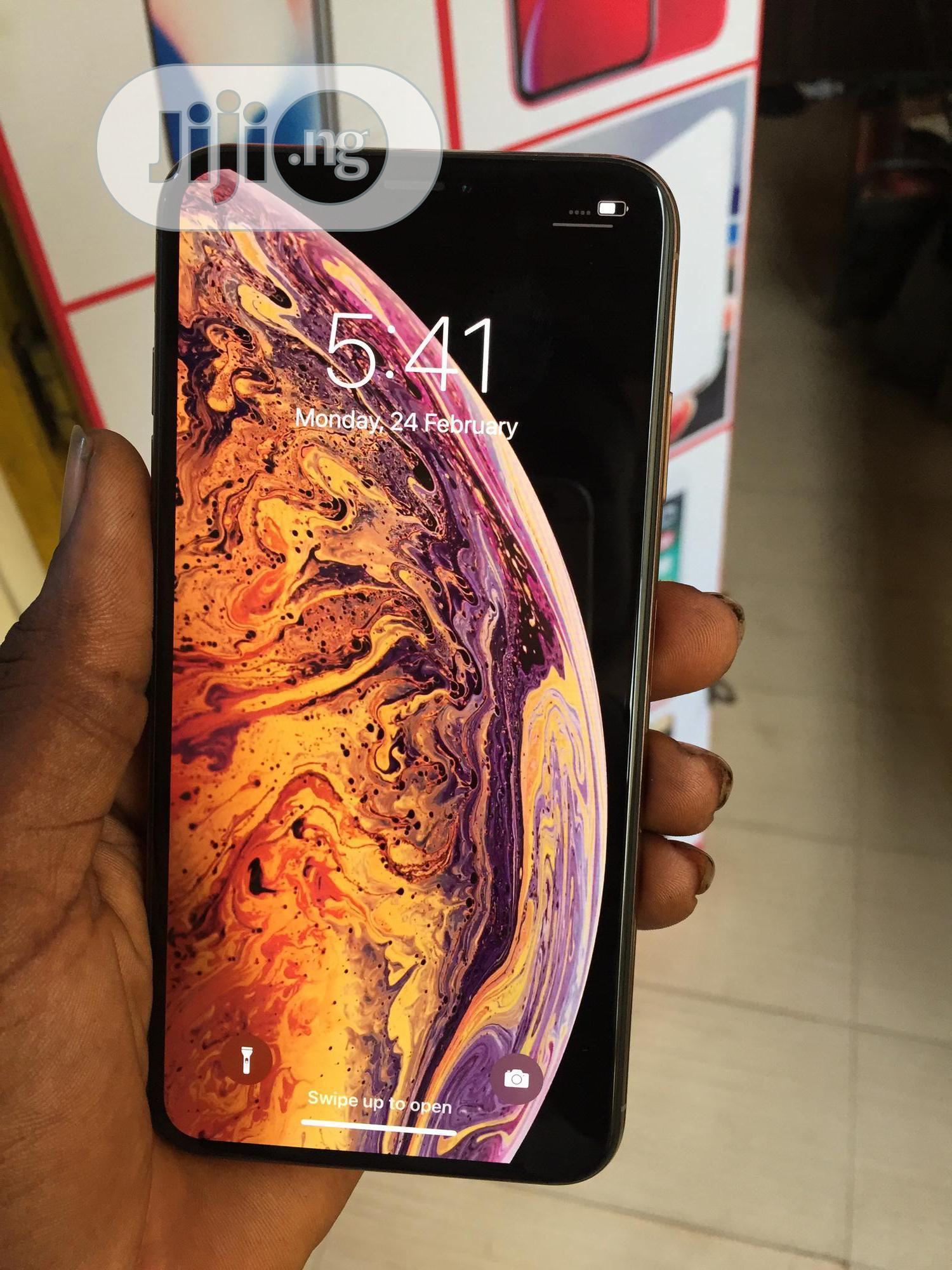 Apple iPhone XS Max 512 GB Gold   Mobile Phones for sale in Benin City, Edo State, Nigeria