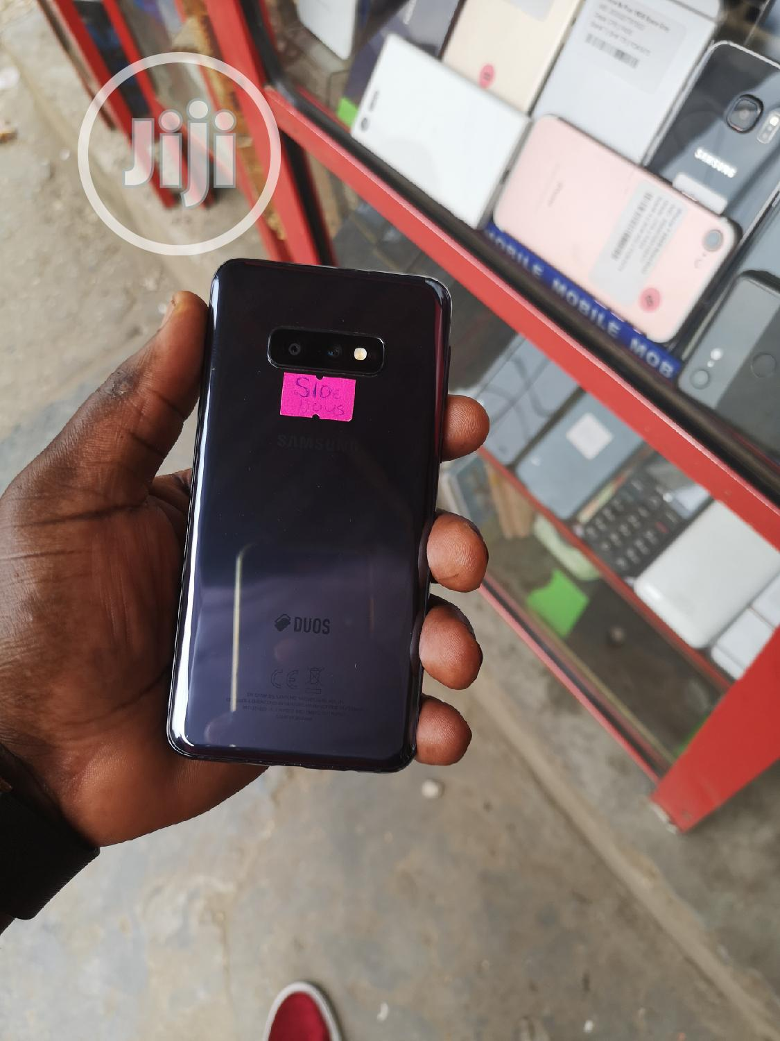 Samsung Galaxy S10e 128 GB Black | Mobile Phones for sale in Ikeja, Lagos State, Nigeria