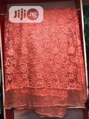Peach Big Lace | Clothing for sale in Lagos State, Ojo