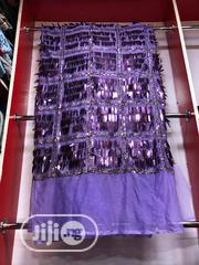Purple Drop Pales Sequence Lace | Clothing for sale in Lagos State, Ojo
