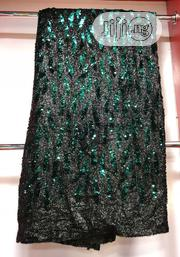 Black Nd Green Sequence Lace   Clothing for sale in Lagos State, Ojo