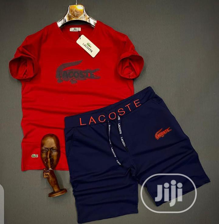 Authentic Lacoste Up Down Short Nicker