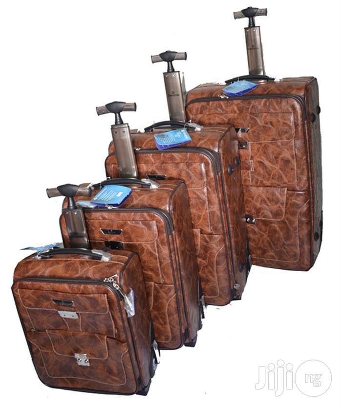 Sensamite 4set Leather Luggage