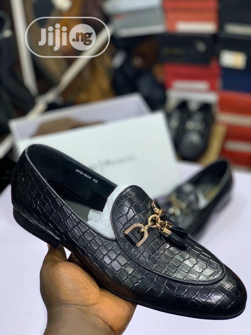 Cesare Paciotti and Rossi Leather Shoes
