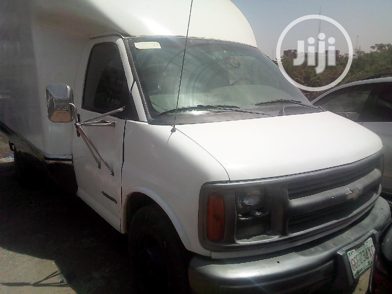 Chevrolet Express 2008 Cargo Van G 3500 Extended White