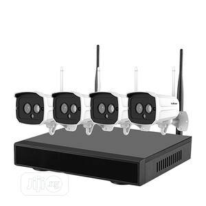 Srihome 4CH NVR Wireless Network IP Camera Kit | Security & Surveillance for sale in Lagos State, Yaba