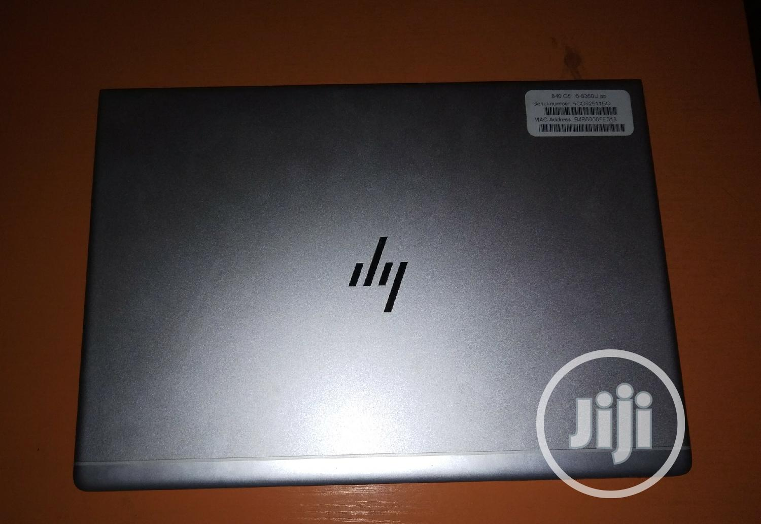 Laptop HP EliteBook 840 G5 8GB Intel Core I5 SSD 256GB | Laptops & Computers for sale in Ikeja, Lagos State, Nigeria