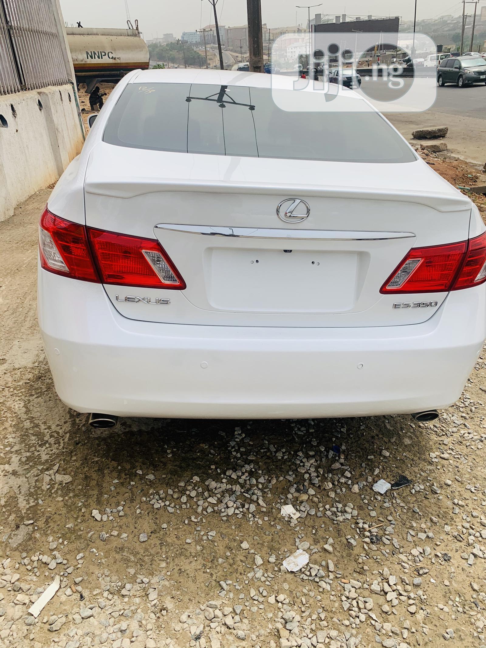 Lexus ES 2007 White   Cars for sale in Lagos State, Nigeria