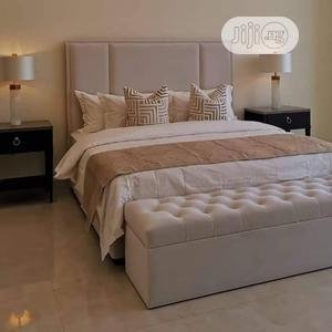 Bedframe Ottoman PLUS Two Side Drawer   Building & Trades Services for sale in Lagos State, Ikeja
