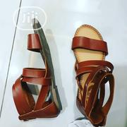 Sandal All Going for 3500  Real Leather Sandals for Girls  Sz 1,2,4. | Children's Shoes for sale in Abuja (FCT) State, Central Business Dis