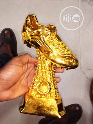Golding Boot Trophy   Arts & Crafts for sale in Lagos State, Surulere