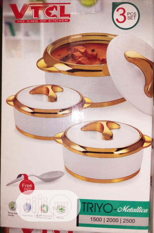 VTCL Food Warmer 3pes