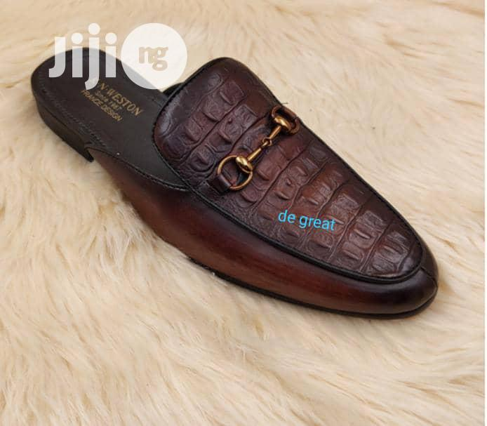 Pure Italian Leather Shoe | Shoes for sale in Ikeja, Lagos State, Nigeria