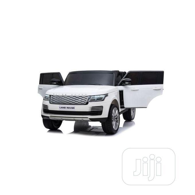 White Range Rover Licensed Range Rover Ride-on Car Toys