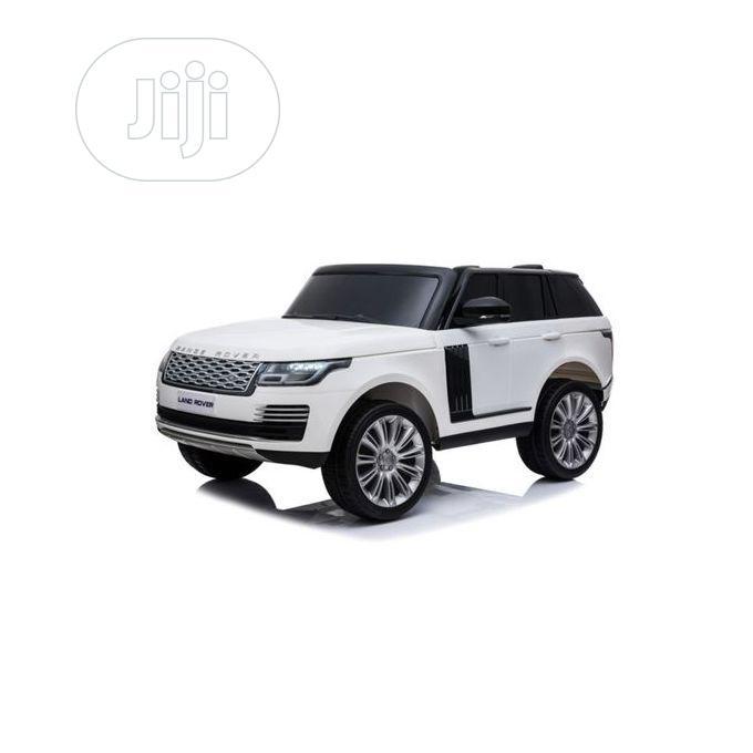 White Range Rover Licensed Range Rover Ride-on Car Toys   Toys for sale in Lagos Island (Eko), Lagos State, Nigeria