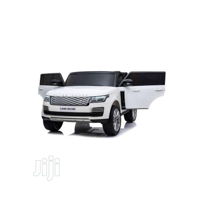 Licensed White Range Rover Ride-on Car