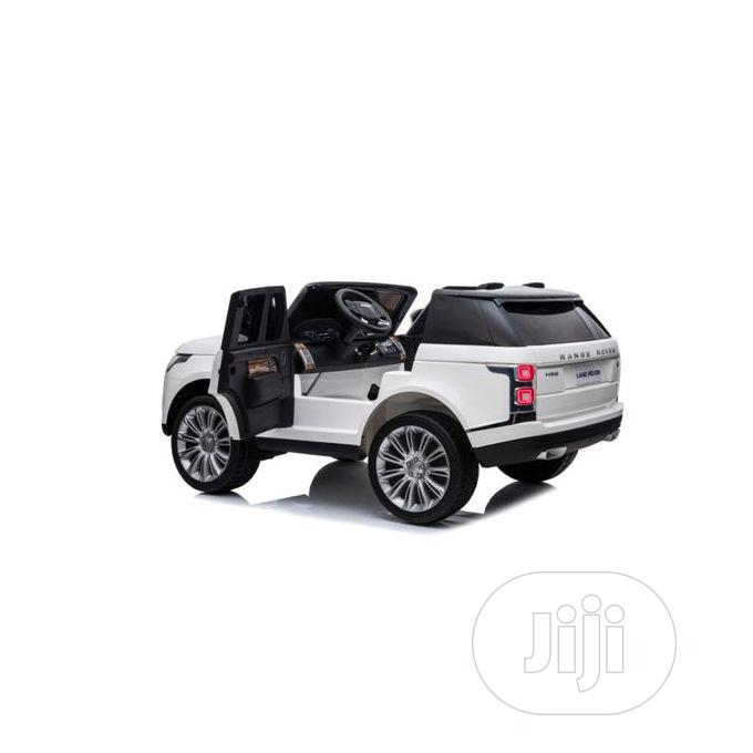 Licensed White Range Rover Ride-on Car | Toys for sale in Victoria Island, Lagos State, Nigeria