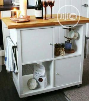 Exotic White Kitchen Center Table   Furniture for sale in Lagos State, Oshodi