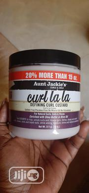 Aunt Jackie's Curl La La Defining Curl Custard | Hair Beauty for sale in Enugu State, Enugu