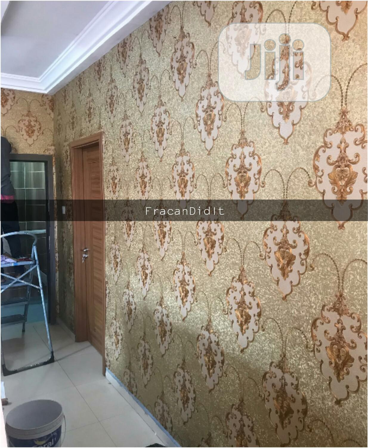 Exquisitely Designed Wallpapers. Fracan Wallpaper Limited Abuja | Home Accessories for sale in Apo District, Abuja (FCT) State, Nigeria