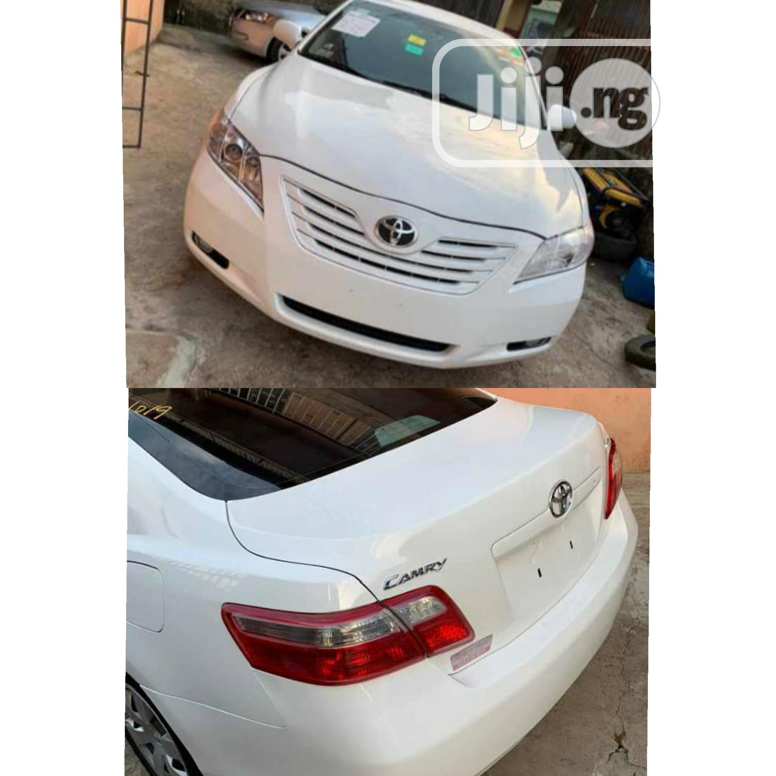 Archive Toyota Camry 2009 White In Lagos State Cars Victor Chidi Jiji Ng For Sale In Lagos Buy Cars From Victor Chidi On Jiji Ng