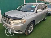 Toyota Highlander 2008 4x4 Silver | Cars for sale in Lagos State, Ikeja