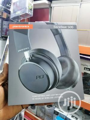 Black Beats 500 Plantronics Comfortable 18hrs Wireless Headphones | Headphones for sale in Lagos State, Ikeja