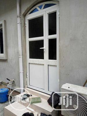 Aluminum Work And Frameless Glass Door | Building & Trades Services for sale in Lagos State, Ikotun/Igando