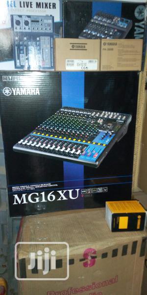 Yamaha MG 16xu Music Mixer | Audio & Music Equipment for sale in Lagos State, Ojo