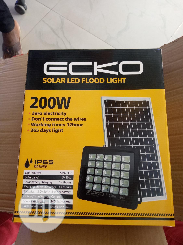 200w Solar Flood Light