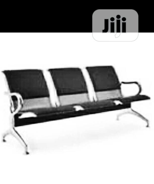 High Quality Airport 3 Seaters Padded Chair