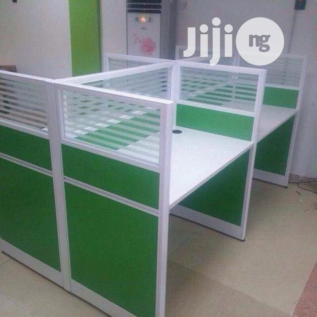 High Quality 4 Unit Workstation Table