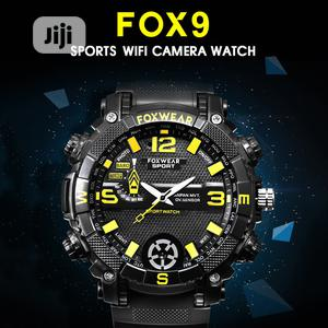FOX9 16gbwifi Waterproof 720P Spy Watch Hidden DVR DV | Security & Surveillance for sale in Rivers State, Port-Harcourt