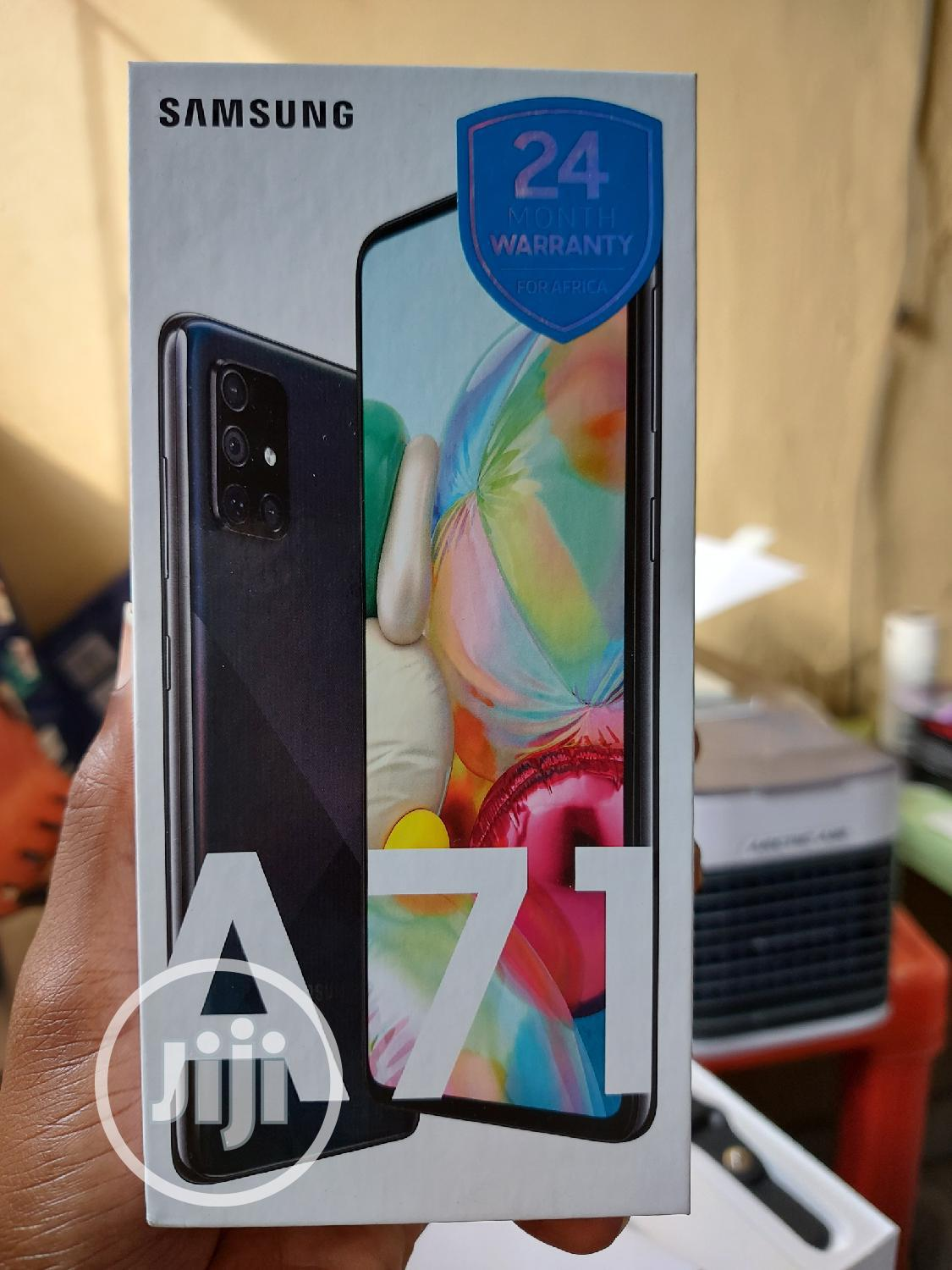 New Samsung Galaxy A71 128 GB Black | Mobile Phones for sale in Oshodi, Lagos State, Nigeria