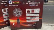 Sonik 18 Inches Remote Control Rechargeable Mist/Water Fan | Home Appliances for sale in Lagos State, Ikotun/Igando