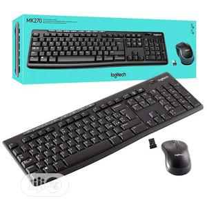 Logitech MK270 Wireless Mouse and Keyboard Combo | Computer Accessories  for sale in Lagos State, Ikeja