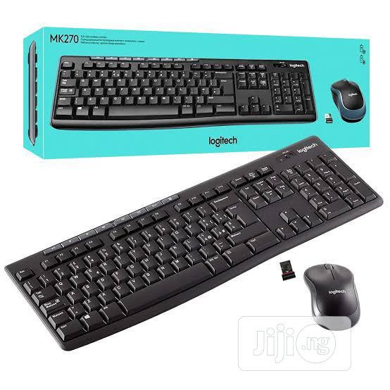 Logitech MK270 Wireless Mouse and Keyboard Combo