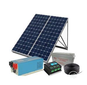1kva 12v Pure Sine Wave India Inverter,2panels,1of 200amp Battery | Solar Energy for sale in Lagos State, Ikeja